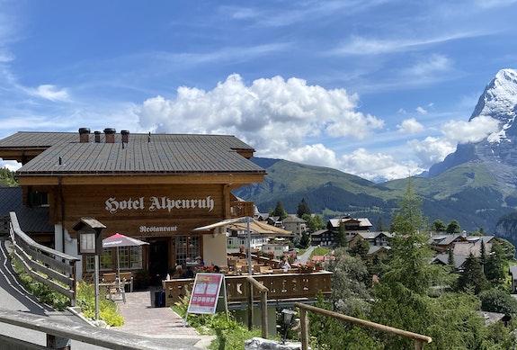 Hotel Alpenruh in Mürren / Foto Jela