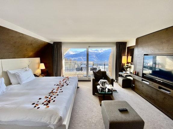 Doppelzimmer Alpina Prestige / Foto Jela