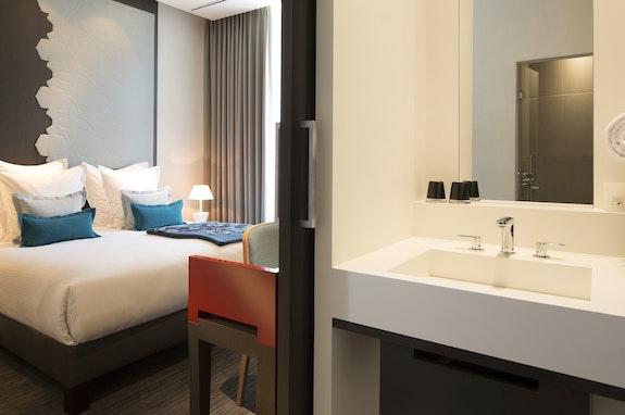 Doppelzimmer Deluxe im Hotel D in Strassburg