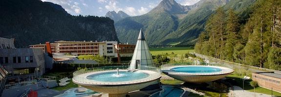 Station thermale des Alpes