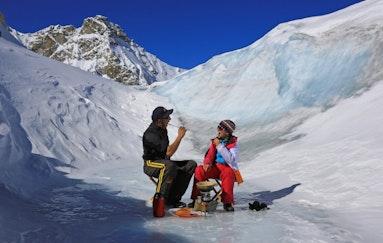 Helikopterflug mit Gletscherfondue