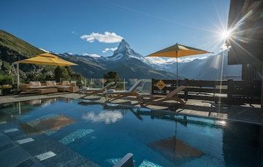 Riffelalp am Fusse des Matterhorns