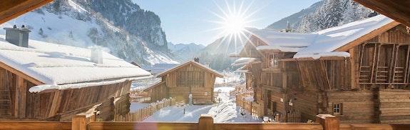 Chalet-Romantik in den Bergen