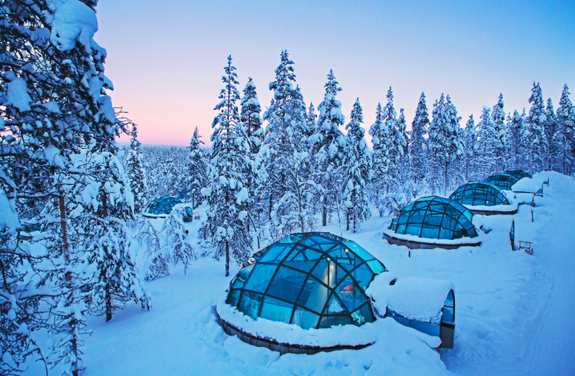 © Kakslauttanen Arctic Resort, Lapland, Finland