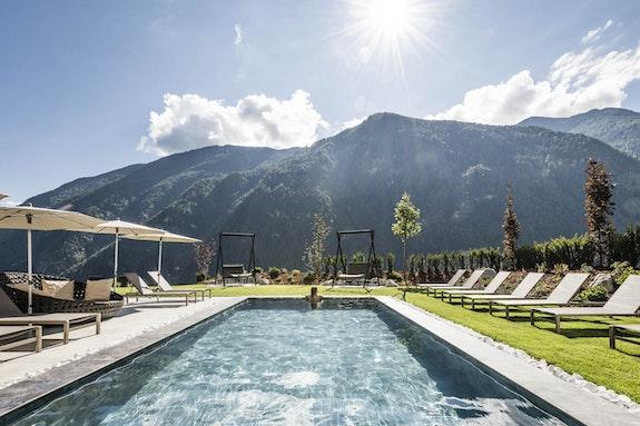 Wohlfühloase im Zeichen der Elemente im Tuberis Nature & Spa Resort****S