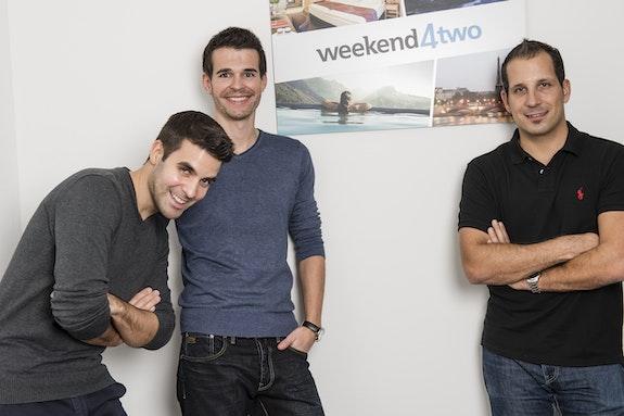 Fondateurs / Gérants: Toni, Roland, Marc (de gauche à droite)