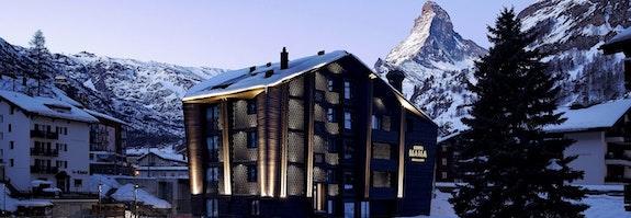 Verschnaufpause in Zermatt