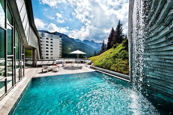 Tschuggen Bergoase im *****Superior Tschuggen Grand Hotel