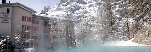 Wellness in den Walliser Alpen