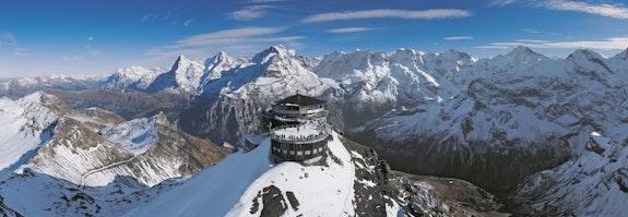 Silvester in den Schweizer Bergen
