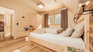 Symbolbild Schlafzimmer (in allen Chalets gleich)