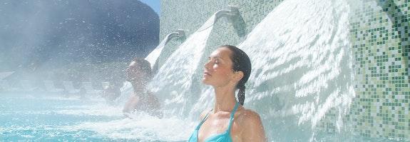 Badeerlebnis mit Massage