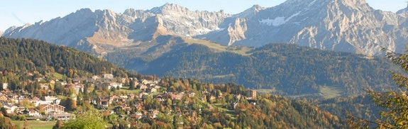Traditionelles Bergchalet