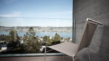 Doppelzimmer (26 m²) mit atemberaubender Seesicht: Bild 6