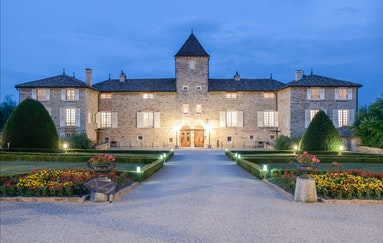 Schlosshotel im Burgund