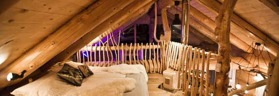 Romantik-Lodge mit Privat Spa