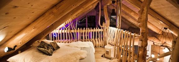 Lodge romantique avec spa privatif