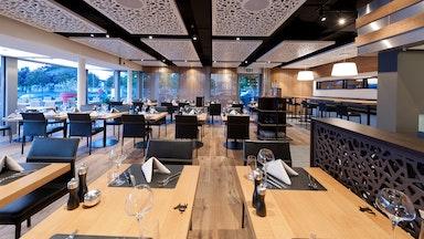 Abendessen in einem Restaurant der Marina Lachen: Bild 12