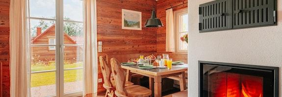 Zweisamkeit in der Lodge im Harz