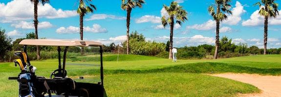 Golfer au Cap d