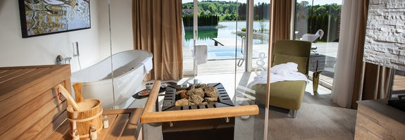 Private Spa Suite mit Whirlpool