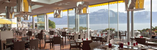 Seeblick-Hotel in Montreux