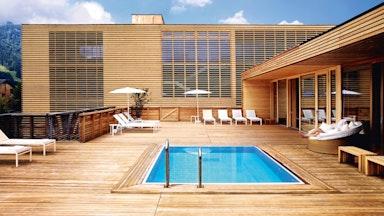 Wellnesshotel Vorarlberg: Badehaus Hotel Post: Bild 6