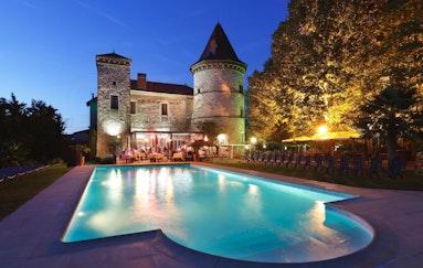 Romantik im Schloss Chapeau Cornu