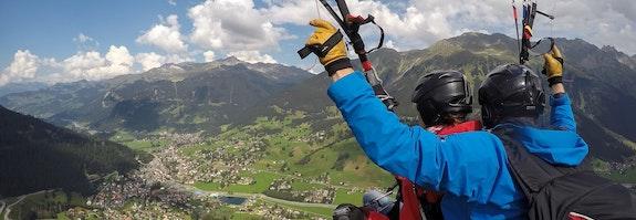 Vol en parapente à Davos