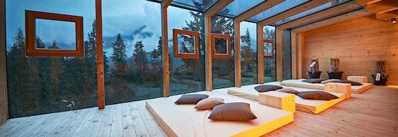 Holzhotel Forsthofalm - Natur ist Freiheit!