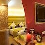Zimmer mit Quellwasserbrunnen