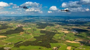 Helikopterflug über die Alpen: Bild 9