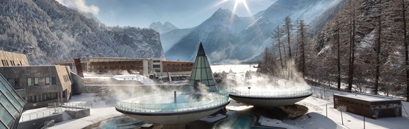 Thermenresort der Alpen