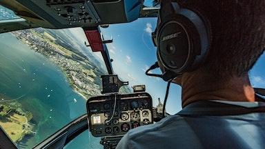Helikopterflug über die Alpen: Bild 6