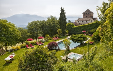 Romantisches Schloss im Südtirol