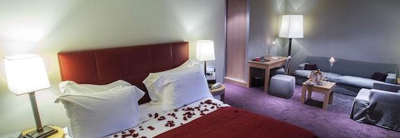Romantische Jacuzzi Suite