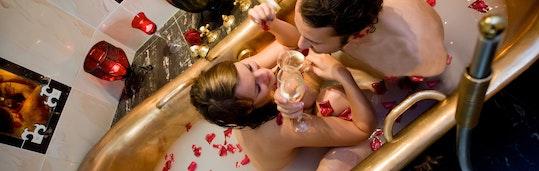 Romantischer Winkel für zwei