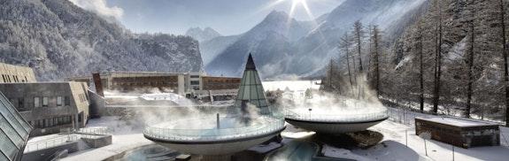 Thermenresort der Alpen