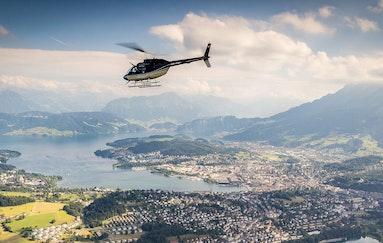 Helikopterflug & Übernachtung in Luzern