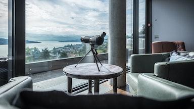 Hotel Belvoir hoch über dem Zürichsee: Bild 9