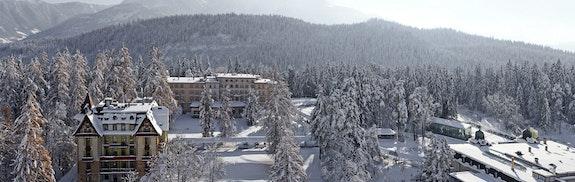 Romantisme à la montagne et spa privatif au Waldhaus Flims