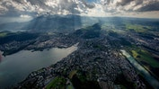 Helikopterflug über die Alpen: Bild 11