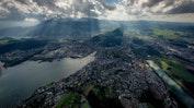 Helikopterflug über die Alpen: Bild 8