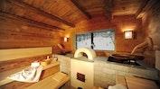 Sauna mit Pulverschnee-Ausblick: Bild 19