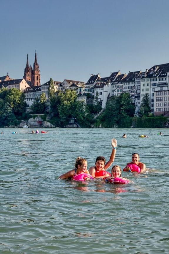 Rheinschwimmen Basel, Basel Tourismus
