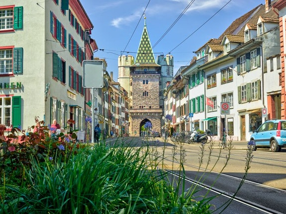 Spalentor Basel, Basel Tourismus