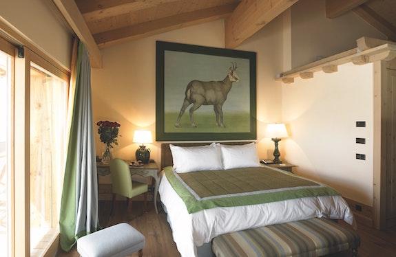 La photo représente la chambre double Superior «Chamois».