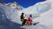 Helikopterflug inklusive Gletscherlandung: Bild 4