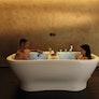 Bad zu zweit im Private Spa